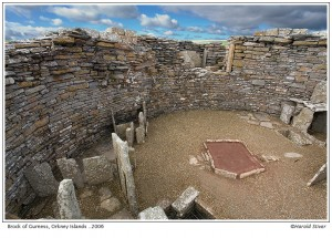Broch of Gurness, Orkney Isles