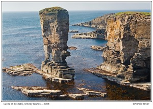 Castle of Yesnaby, Orkney