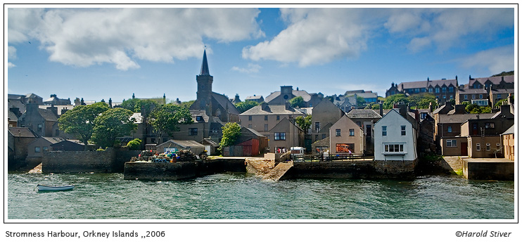 Stromness Harbour, Orkney Isles