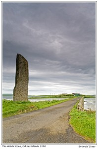 The Watch Stone, Orkney Islands