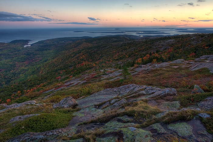 Cadillac Mountain, Acadia N.P., Maine