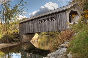 Comstock Covered Bridge, Vermont