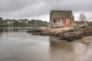 The Fishing Hut, Maine