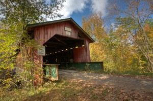 Hutchin's Covered Bridge, Vermont