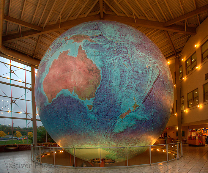 The world's largest globe, Maine
