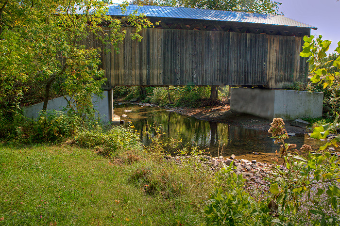 Maple Street Covered Bridge, Vermont