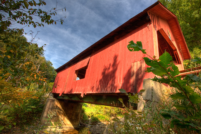 Second Covered Bridge, Vermont