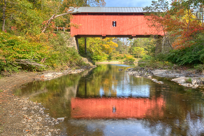 Slaughter House Covered Bridge, Vermont