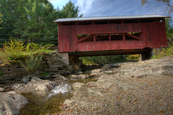 Third Covered Bridge, Vermont