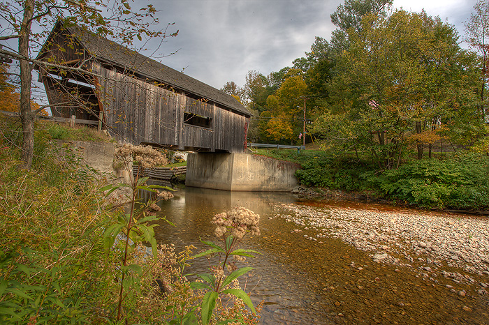 Warren Covered Bridge, Vermont