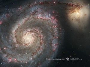 The Whirlpool Galaxy (M51)... Credit: NASA, ESA, S. Beckwith (STScI), and The Hubble Heritage Team (STScI/AURA)